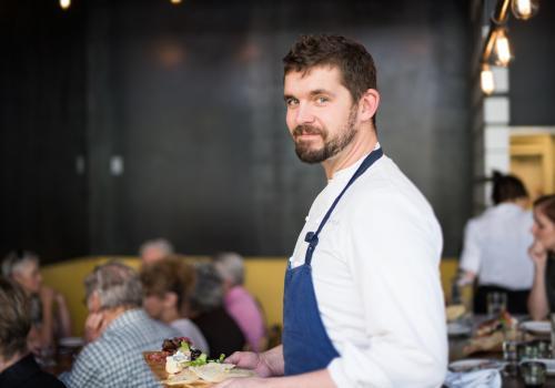 Chef de Cuisine Kris Vrolijk of Proper Tucson