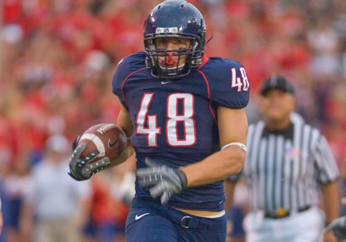 In 2007, Rob Gronkowski was named a Freshman All-American by Sporting News and Rivals.com.