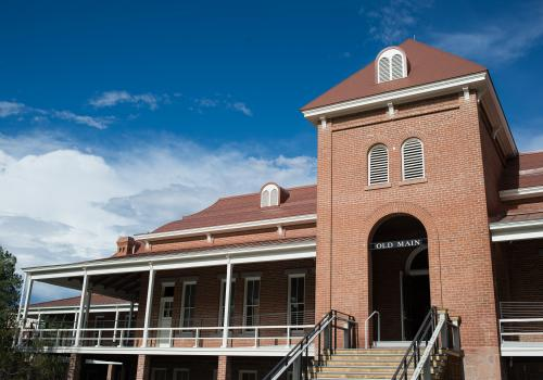 Old Main, the UA's iconic building has been restored.