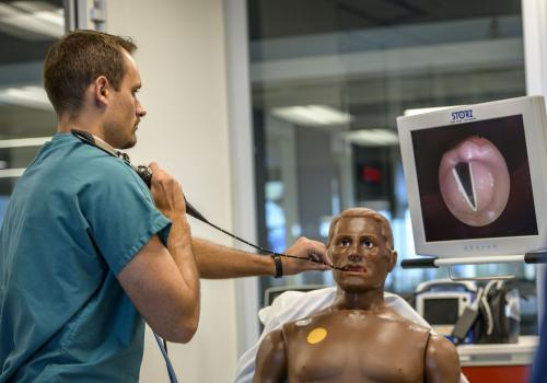 ASTEC's manikins allow students and health care providers to practice on realistic models before providing care to an actual human being.