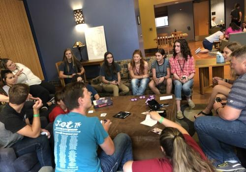Game Night gave participants a chance to connect with the larger Arizona 4-H community and meet youth from other clubs.