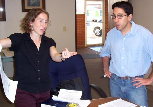 Nina Rabin and Eric Pavri