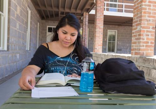 After earning her degree from the UA, Cheyenne Yazzie  intends to enlist and make a career of military service.