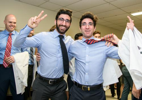 Twin brothers Dieter and Niels Mohty will attend medical school together at the College of Medicine –Tucson.