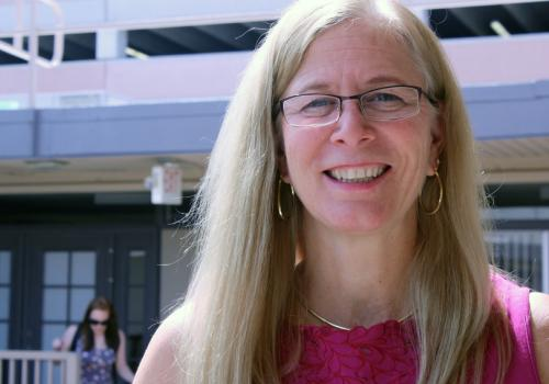 Sally J. Stevens is principal investigator on the NSF grant funding the newly launched i-STEM program.