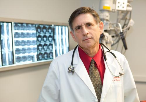 Dr. Allan Hamilton led a team that devised and built the first extracranial stereotactic radiation delivery system, treated the first 13 patients in history with extracranial stereotactic radiosurgery and launched a breakthrough in the treatment of extrac