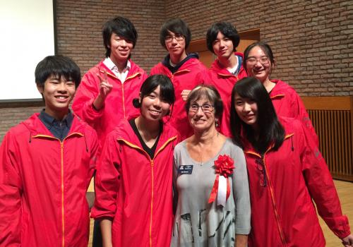 UA education professor Sheri Bauman  has presented internationally on the topic of cyberbullying and had the idea for an international exchange project with Japan.