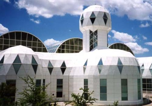 The UA runs the Biosphere 2, which is located north of Tucson in Oracle, Ariz.