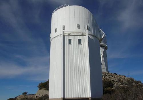 The Bok Telescope on Kitt Peak is the largest telescope operated solely by the UA's Steward Observatory. Named in honor of Bart Bok, who was Steward's director from 1966-1969, the telescope operates every night of the year except Christmas Eve and a maint
