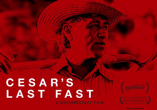 "Culled from hundreds of hours of footage, rarely heard interviews of Cesar Chavez himself, as well as testimonies of the people closest to him, ""Cesar's Last Fast"" illuminates the story of one man's commitment and dedication to social justice."