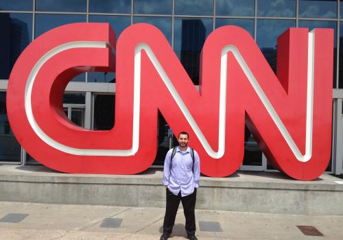 """""""I learned so much from interning at the world headquarters for one of the biggest news stations."""""""