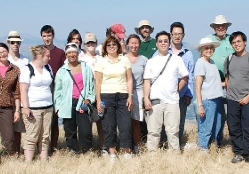 The research team at Mt. Lykaion consists of UA faculty and students.