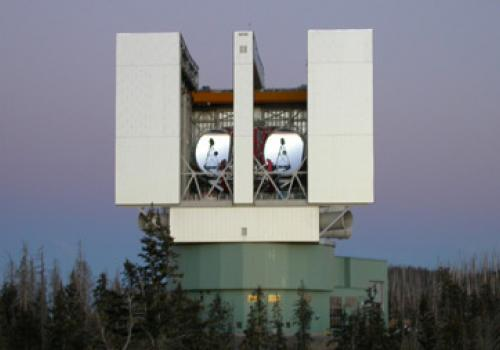 The Large Binocular Telescope, Mount Graham