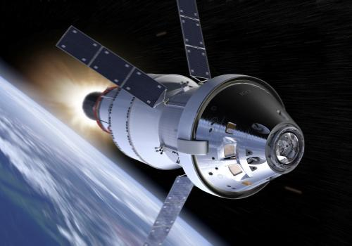 NASA's Orion spacecraft is designed to carry humans farther than ever before — to asteroids or even Mars — and bring them back to Earth. Sending astronauts into deep space is radically different from maintaining a presence in low Earth orbit. Once Earth n