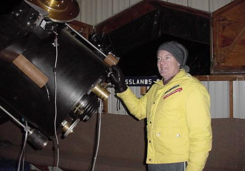 Amateur astronomer observers like Tim Hunter will compile information about asteroids. These observations directly support NASA's OSIRIS-REx asteroid sample return mission and aid future mission designers and scientists. Citizen scientists' astronomy and