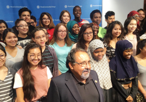 """One of the greatest things about education is that it is the great equalizer in the world,"" U.S. Rep. Raúl Grijalva said during an event announcing the Upward Bound funding for the UA and Pima Community College."
