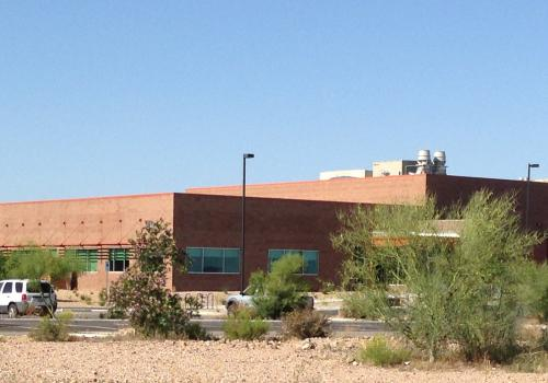 The WEST Center is part of the Pima County Water Campus.