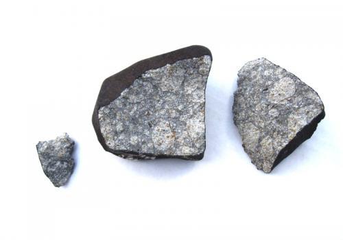 Inside Wisconsin meteorite