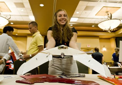 Industry sponsors many of the students' creations, which could become commercial products.