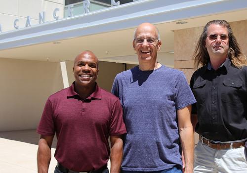 From left: Mark Nelson, Bernard Futscher and Lukas Vrba.