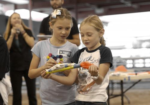 """The goal of """"Rockets to the Rescue"""" is to encourage youth to become involved in STEM fields."""