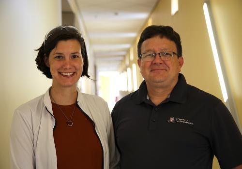 Colleen Janczak and Craig Aspinwall.