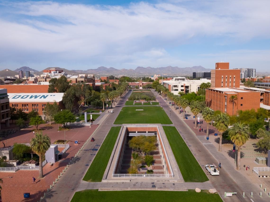the university of arizona mall