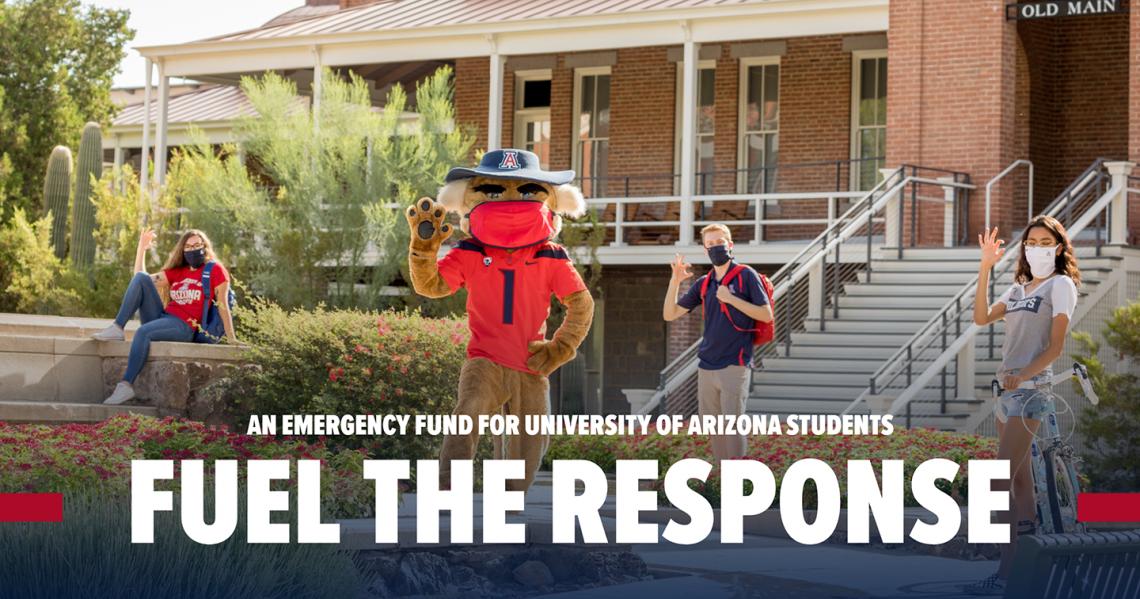 fuel the response banner logo