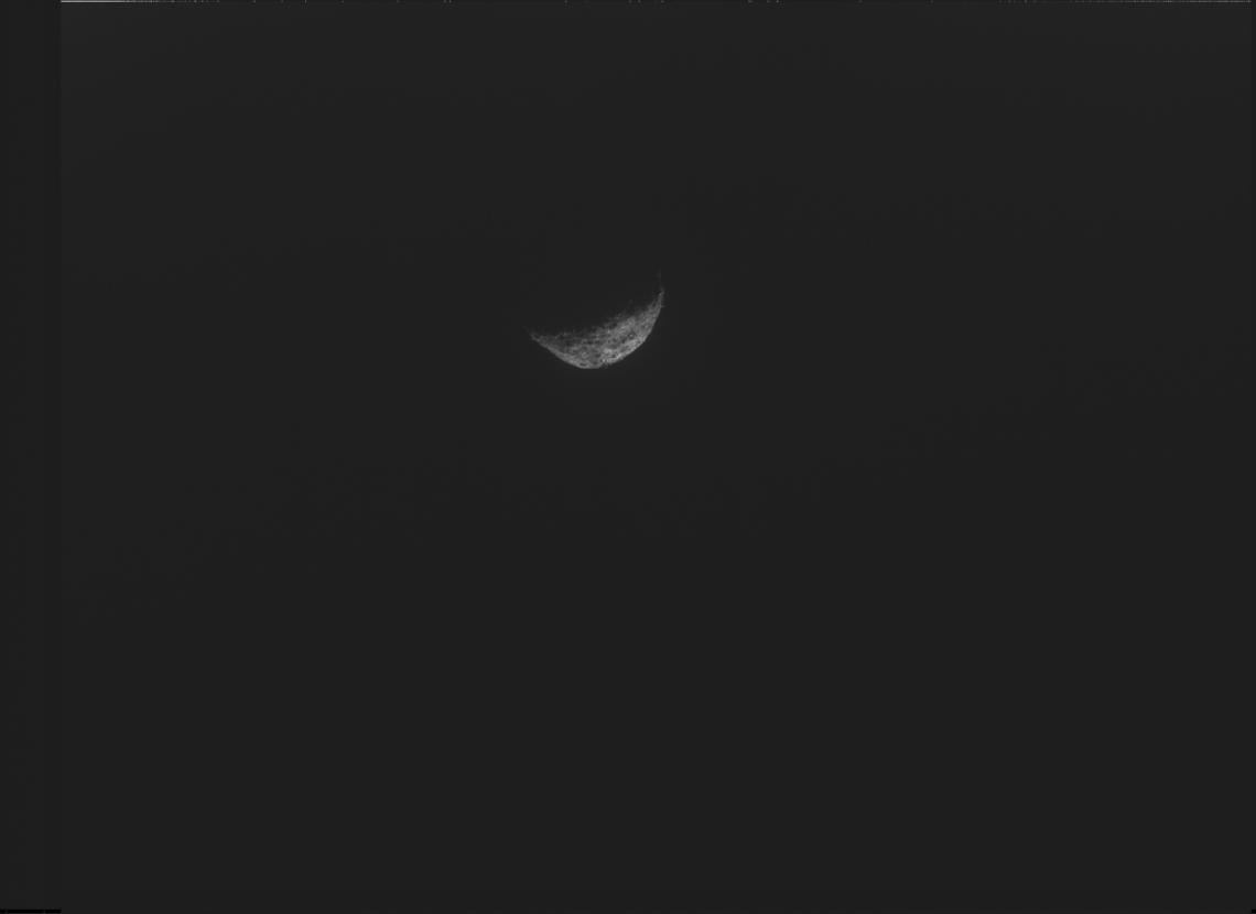 Bennu in space