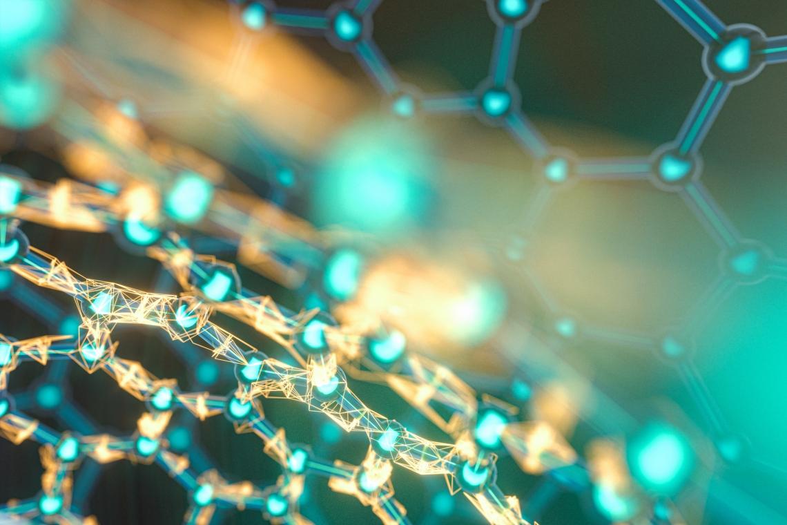 abstract nanotechnology image