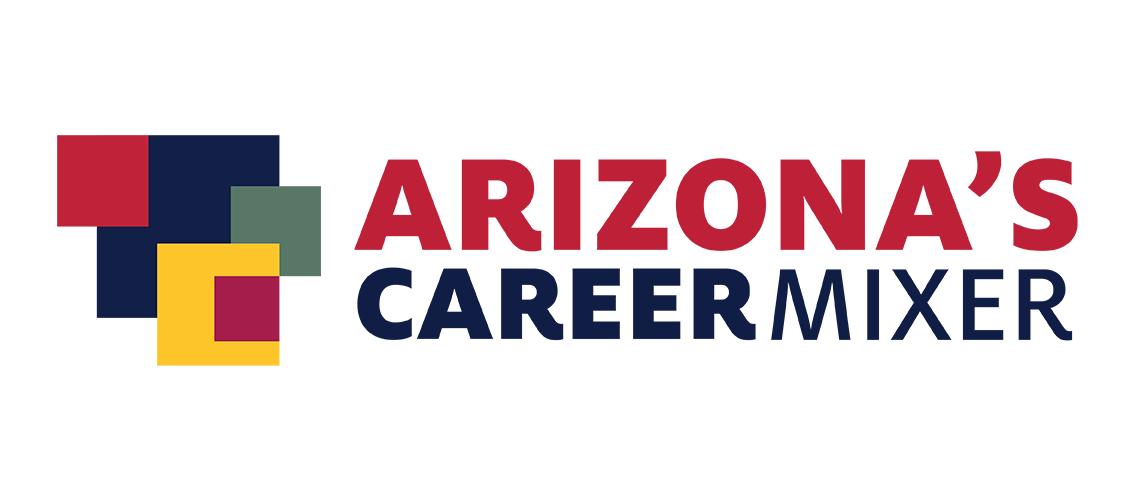 Arizona's career mixer graphic element