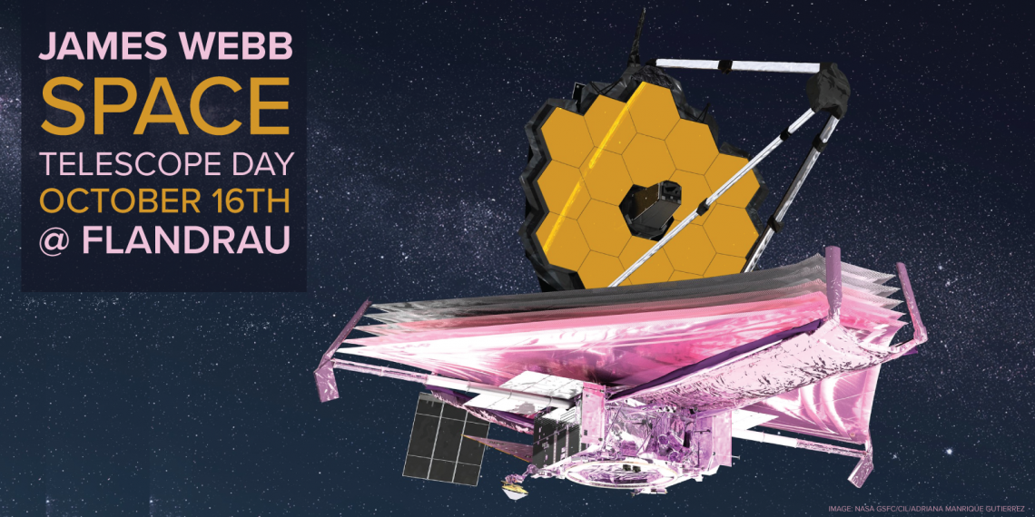 James Webb Space Telescope Day Illustration - Flandrau Science Center & Planetarium