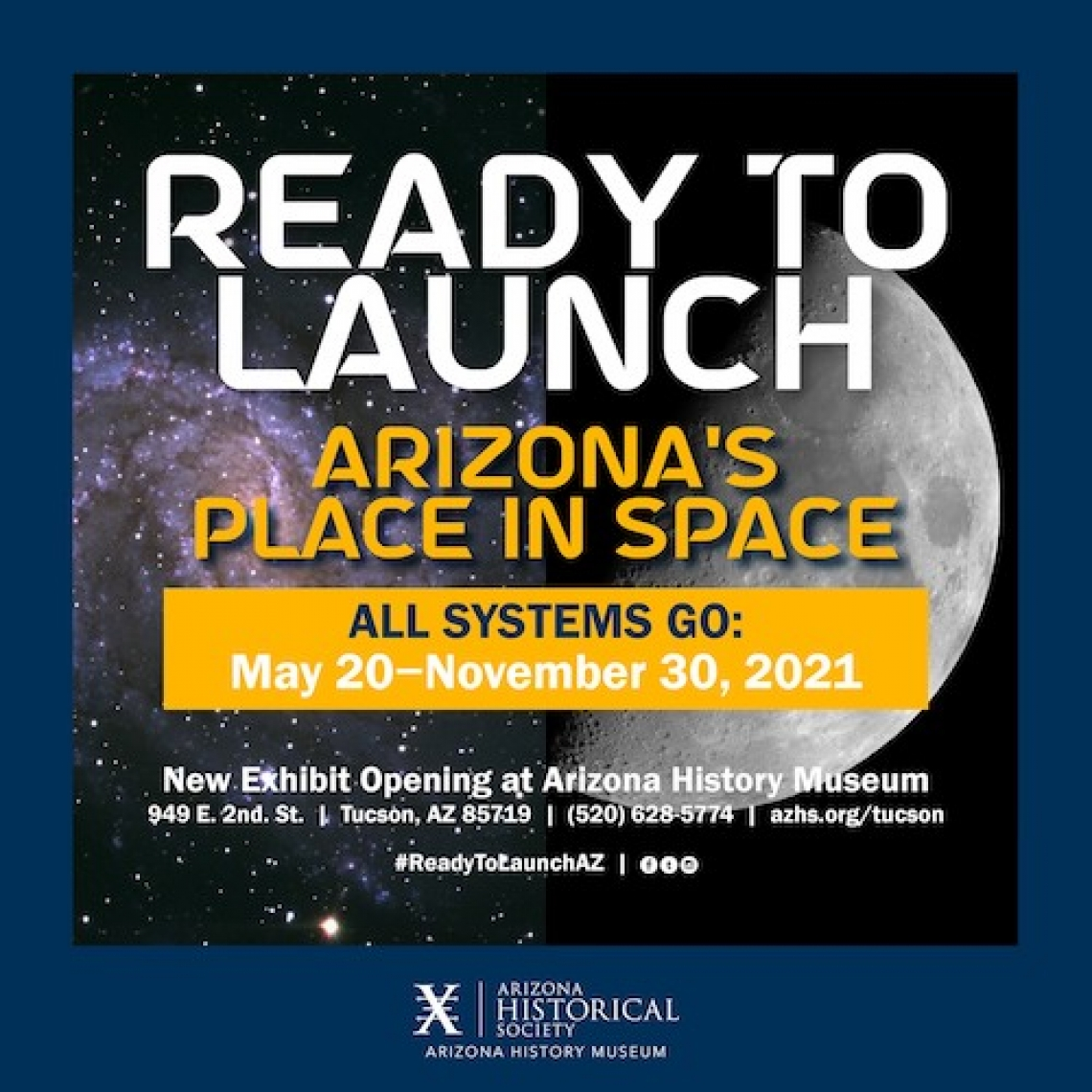 ready to launch exhibit graphic