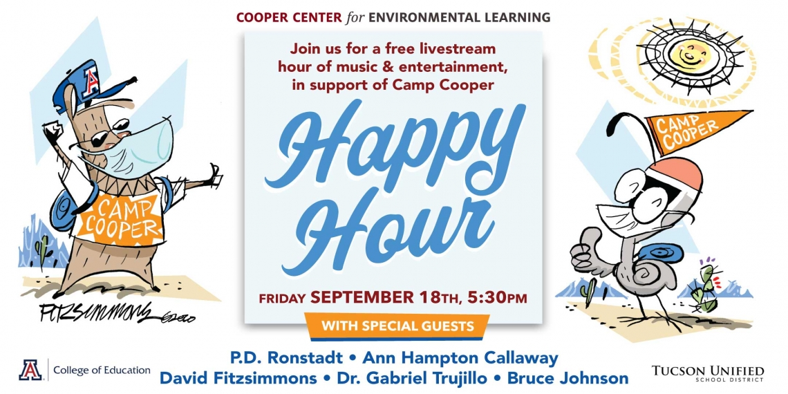 Cooper Center Happy Hour Happens September 18th 2020