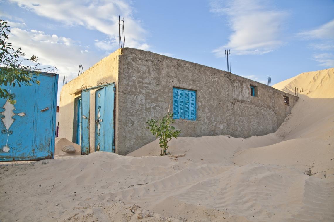 Tunisian desert