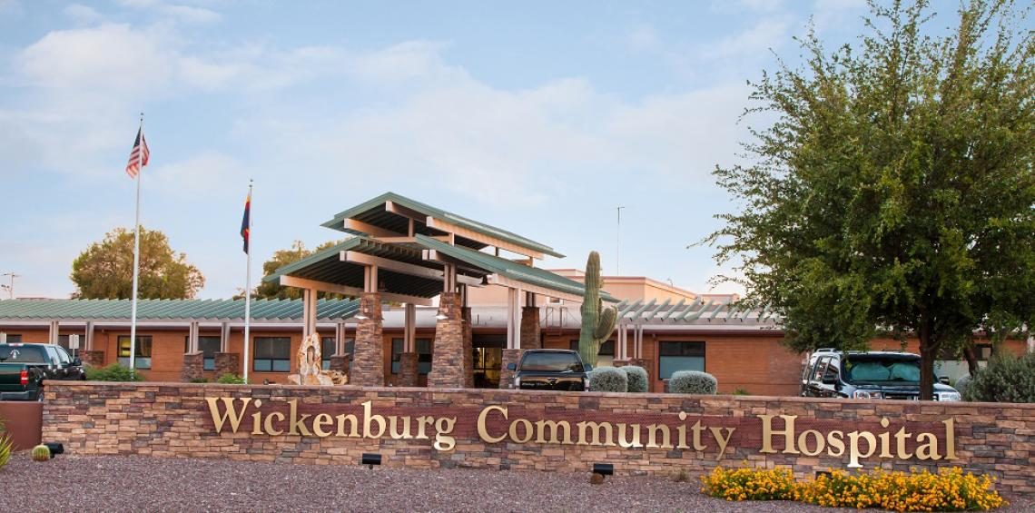 Wickenburg Community Hospital in Maricopa County is one of 16 hospitals in rural Arizona to receive COVID-19 relief funds through the Small Rural Hospital Improvement Program under the UArizona Center for Rural Health.
