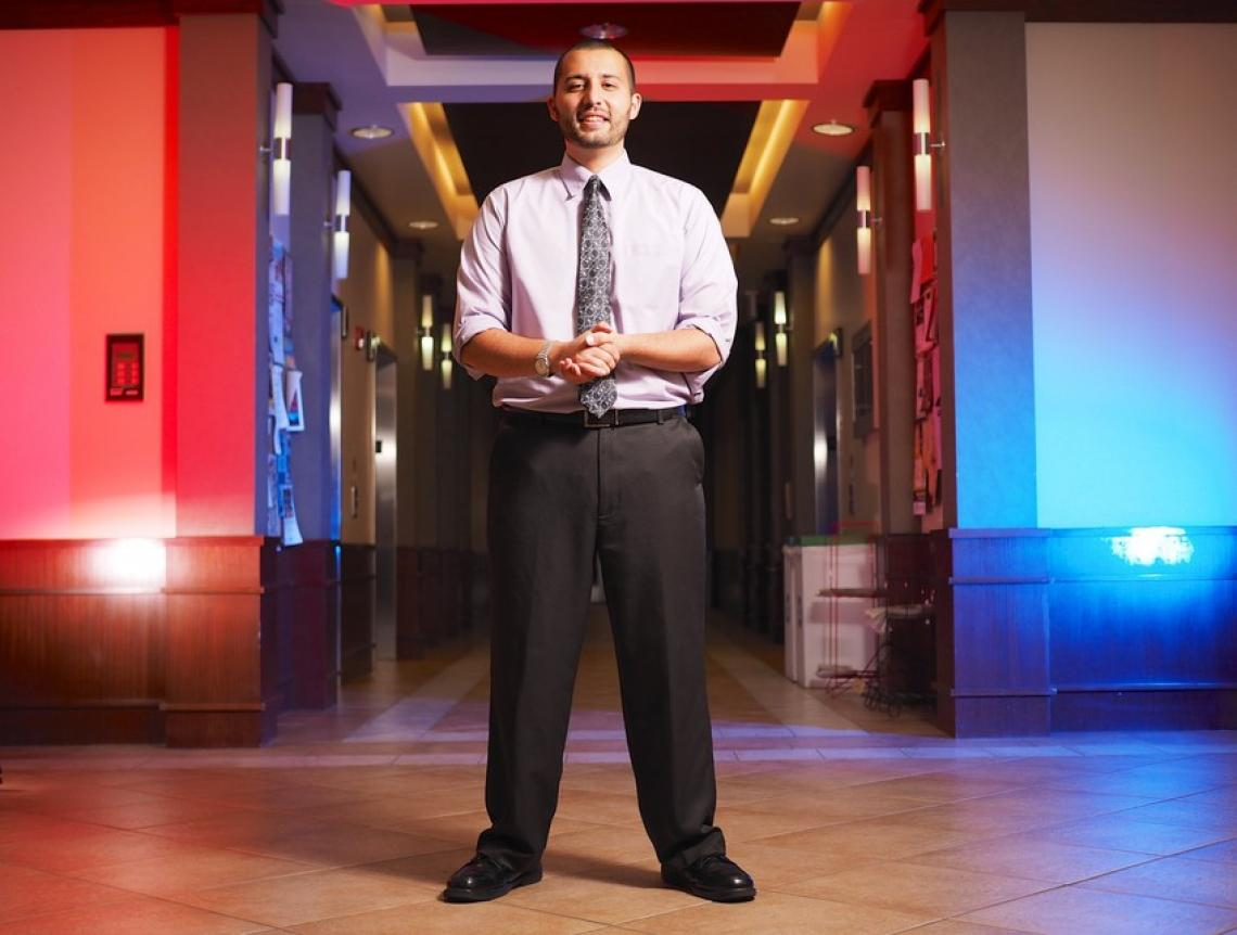 UA journalism student Amer Taleb has held a number of competitive internships where he has been able to write about national and international news. While interning at the Arizona Daily Star, Taleb was a government reporter covering and analyzing governme