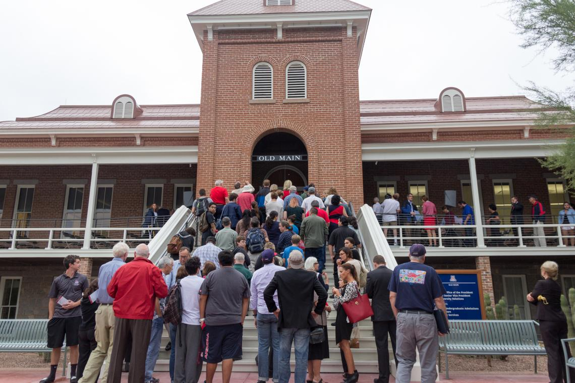 """The newly restored and renovated Old Main received several awards in the month of May. Rodney Mackey, associate director of Planning Design and Construction at the UA, said working on the building was a powerful experience. """"It's a great final product, an"""