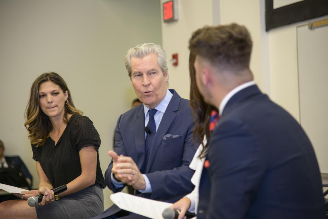 UA alumnus Terry J. Lundgren is known for his generosity of time and expertise with students.