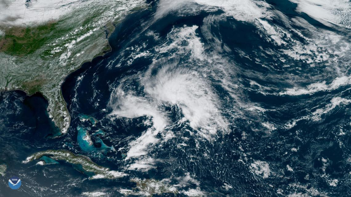 Subtropical Storm Andrea, which formed on the evening of May 20, is this year's first named storm. The UA forecasting model predicts a total of 16 named storms this year.