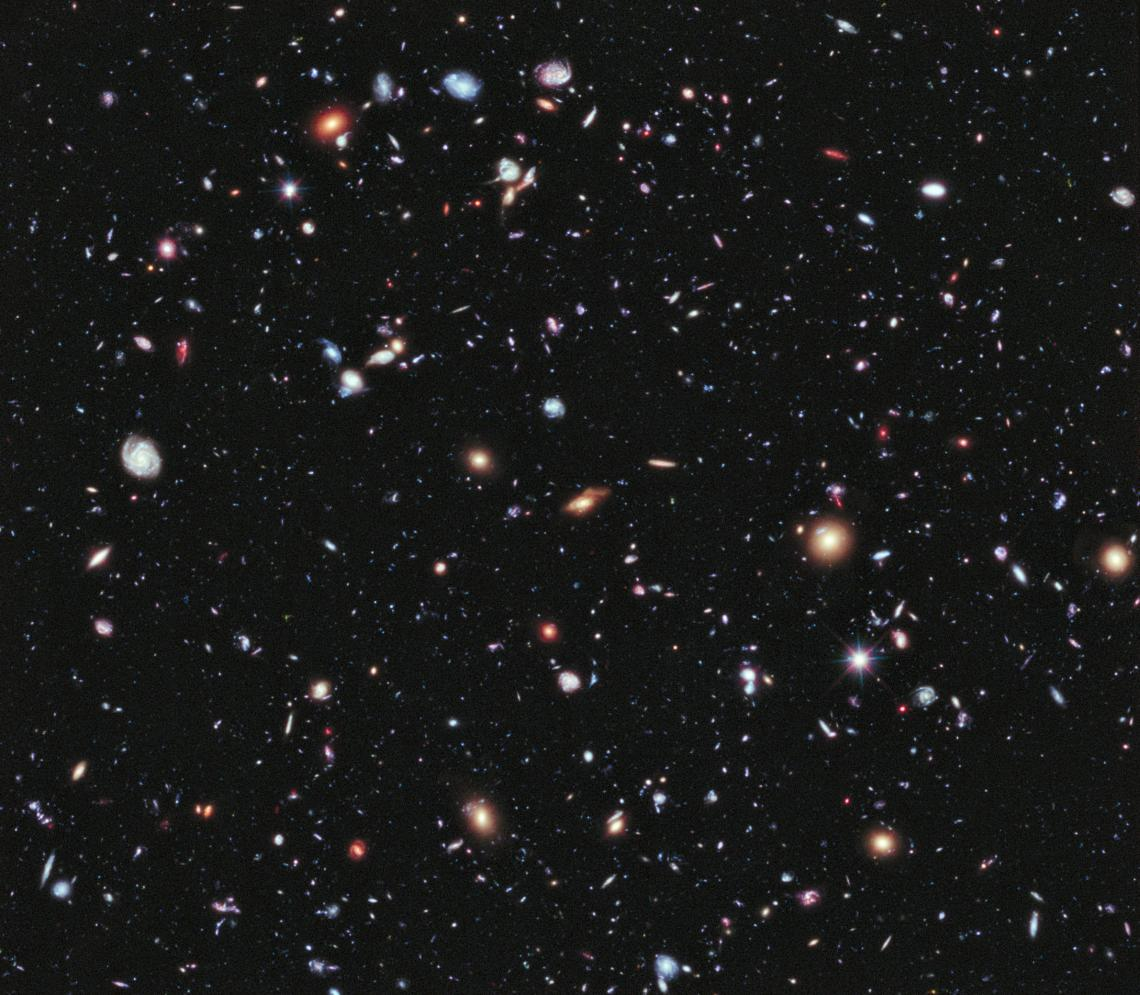 """The accelerating expansion of the galaxies observed in the Hubble Ultra Deep Field may conform more to Albert Einstein's """"cosmological constant"""" than a popular alternative theory of dark energy."""