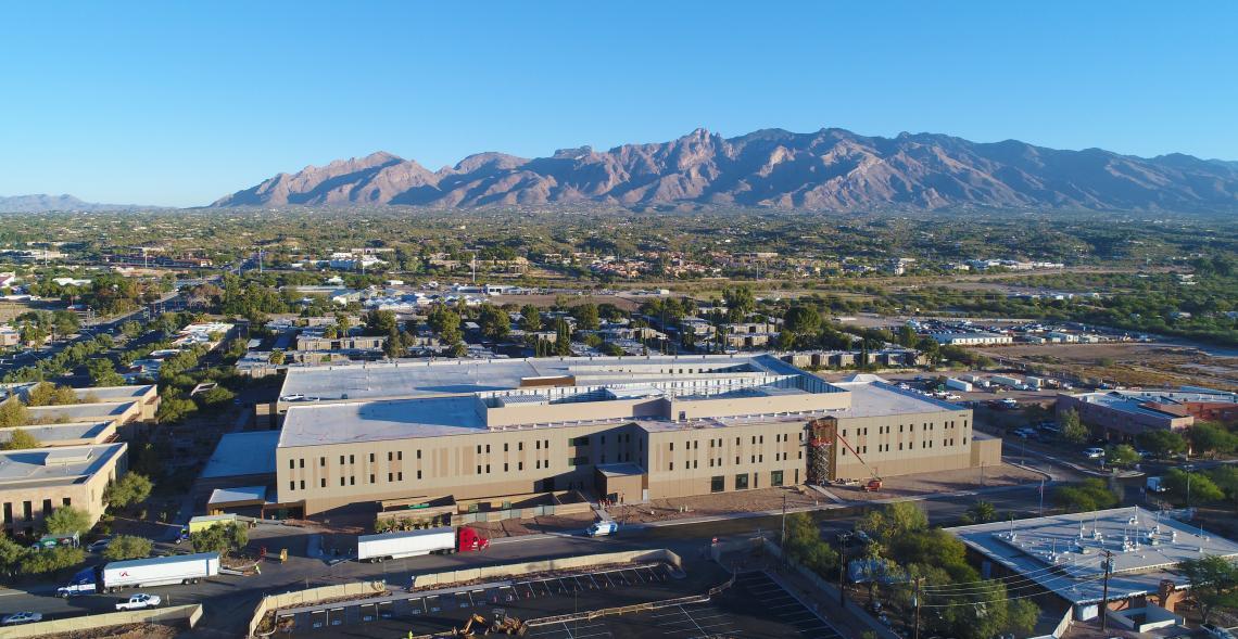 The three-story outpatient clinic  near North Campbell Avenue and East Allen Road will enhance the patient experience, according to Dr. Charles B. Cairns, dean of the College of Medicine – Tucson.