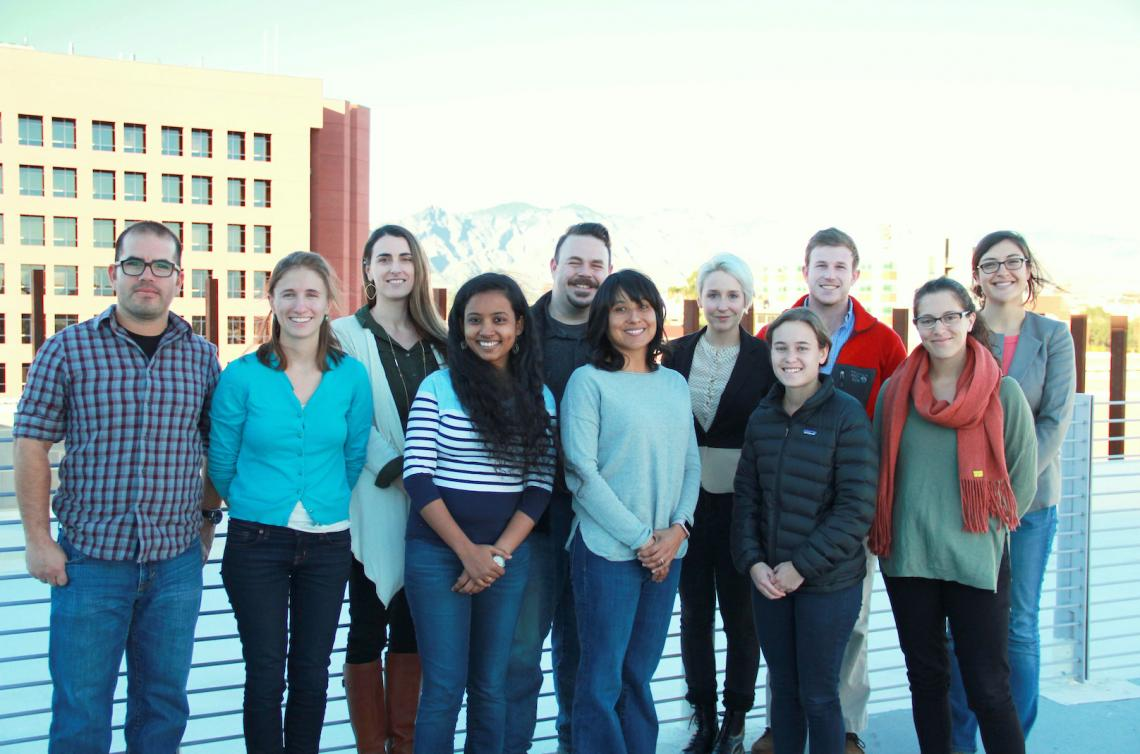 The group of 11 graduate students named 2017 Carson Scholars represents the natural sciences, law and history. They are  Rodolfo Peon, Katie Gougelet, Tamee Albrecht, Pradnya Garud, Amado Guzman, Denise Moreno Ramírez, Genevieve Comeau, Becki Beadling, Al