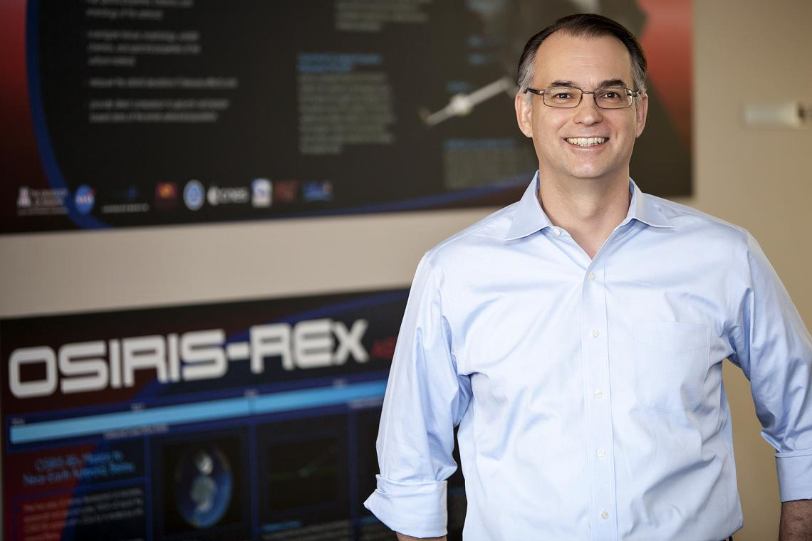 The UA's Dante Lauretta first began work with his mentor, the late Michael Drake, on the OSIRIS-REx mission in 2004.