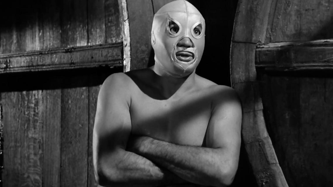 "Rodolfo Guzmán Huerta, also known as El Santo, stars in the 1961 film ""Santo Contra El Cerebro Del Mal ,"" which will screen at the Fox Tucson Theatre as part of Tucson Cine Mexico."