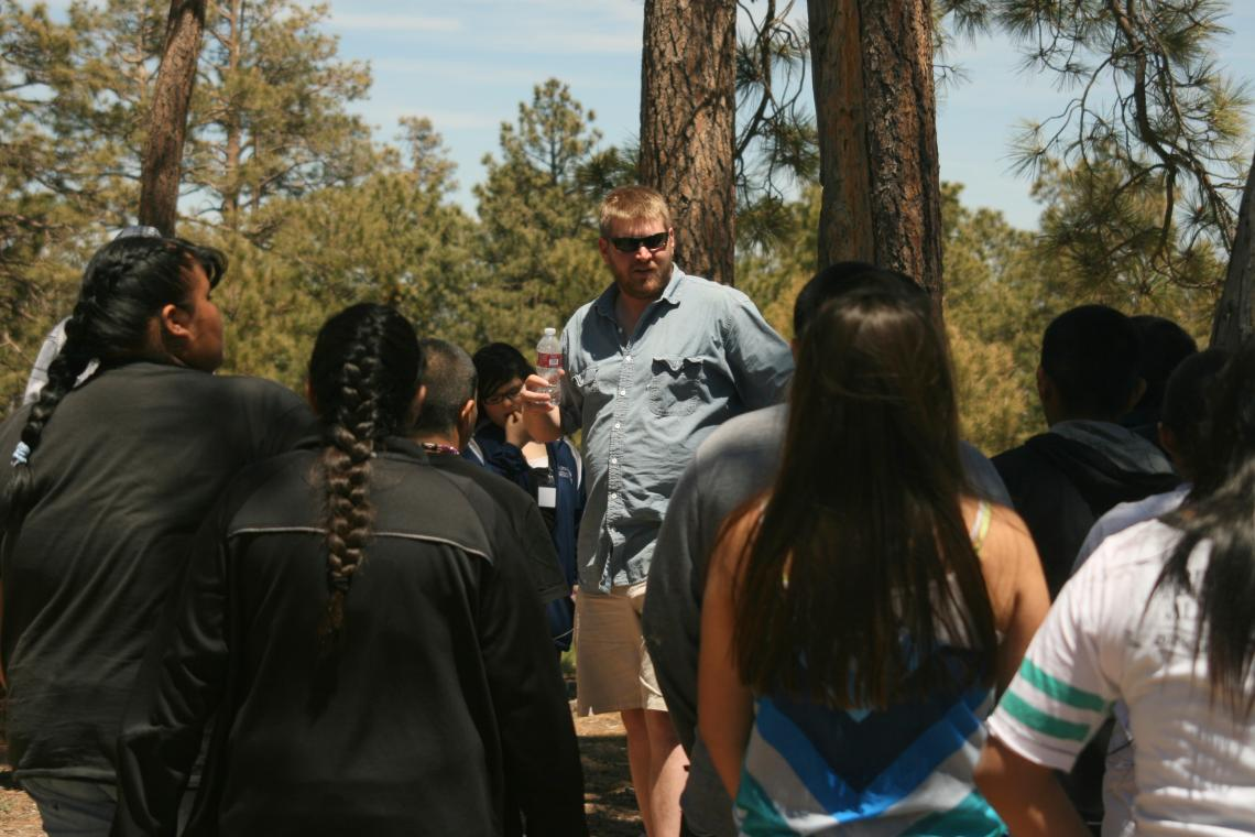 For the Walatowa High Charter School students, benefits of the recent UA excursion were manifold: Students were introduced to Arizona state universities, informed about UA fire ecology research around their home communities and learned about fire ecology