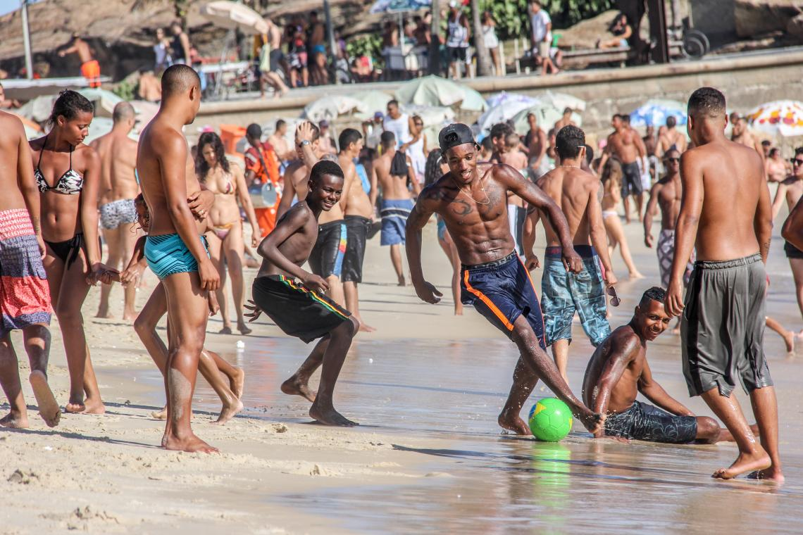 Jennifer Roth-Gordon examines how racial ideas of white superiority and black inferiority circulate and inform struggles over prime city spaces, such as Rio de Janeiro's famous beaches.