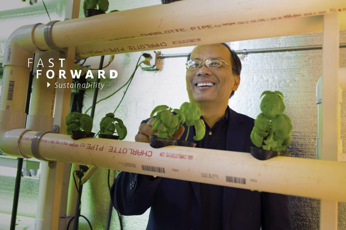 """Research and development leads to innovations and technology. I always knew that I wanted to go into that direction, so that I can contribute to solving some important problems facing our planet,"" says Joel Cuello, UA professor of agricultural and biosys"