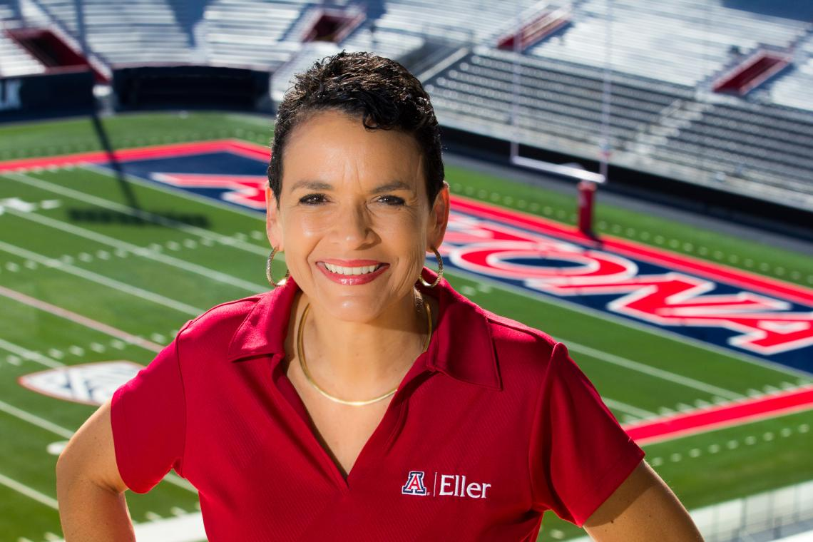 Lisa Ordóñez of the Eller College of Management turned her passion for football into a research study about the effects of rivalry on risk-taking.