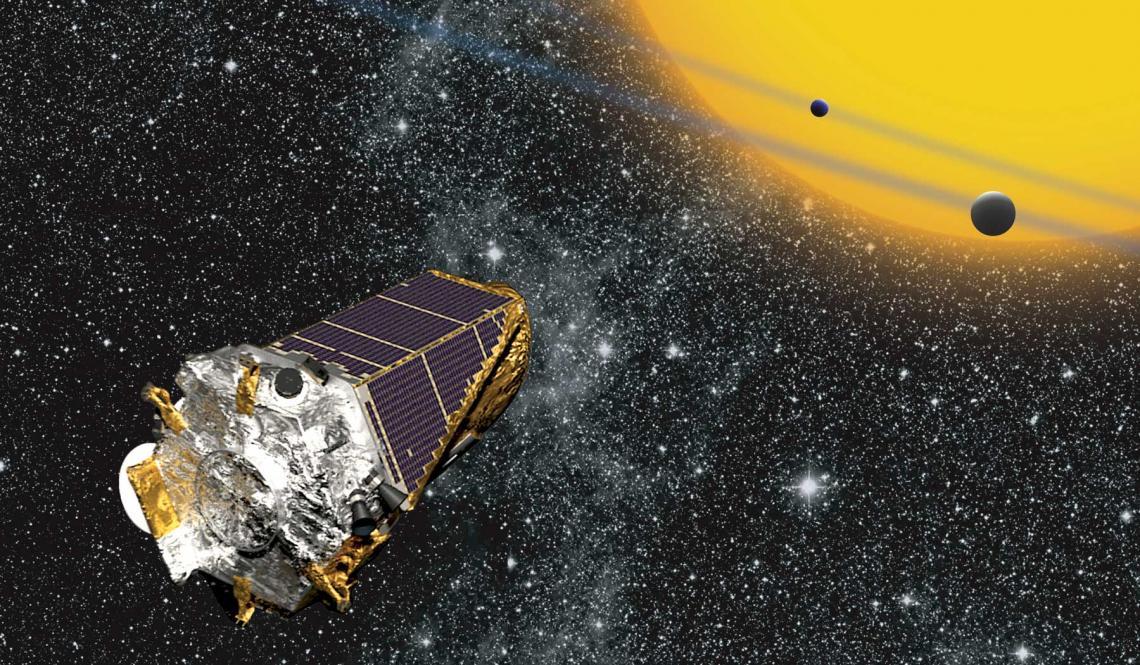 The Kepler spacecraft